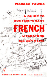 A Guide to Contemporary French Literature