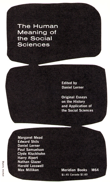 The Human Meaning of the Social Sciences