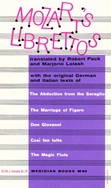 Mozart's Librettos