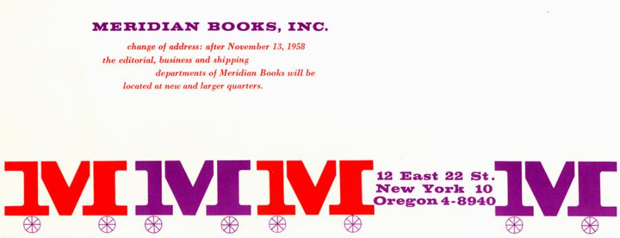 1958-Meridian-Books