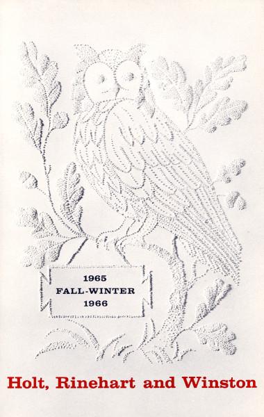 1965-Holt,RinehartWinston