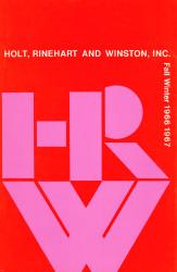 1966-Holt,Rinehart&Winston