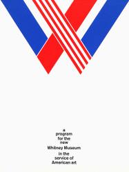 1965--Whitney-Museum-Program